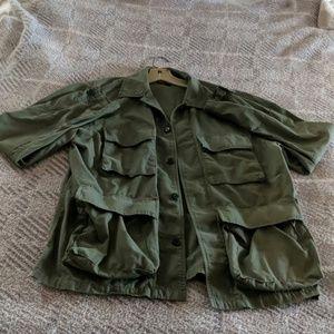 JCrew mercantile chore coat